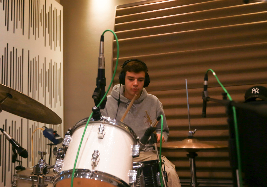 Youthsayers – Josh in the studio